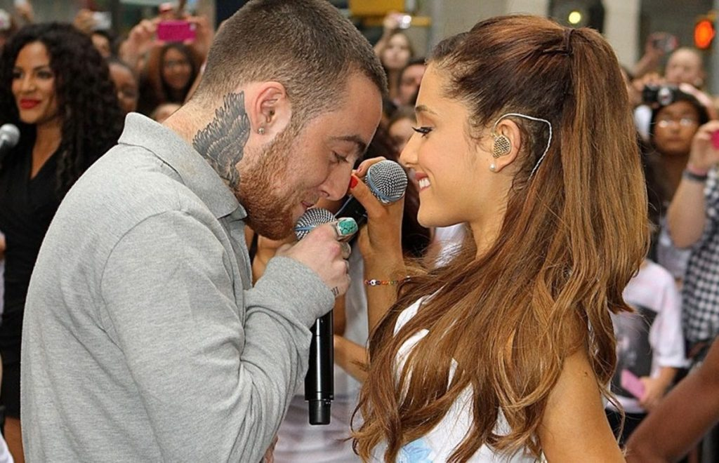 is ariana grande in a relationship with mac miller